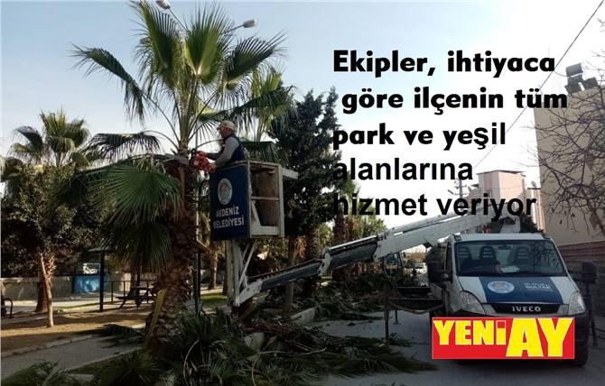 AKDENİZ'İN PARK VE YEŞİL