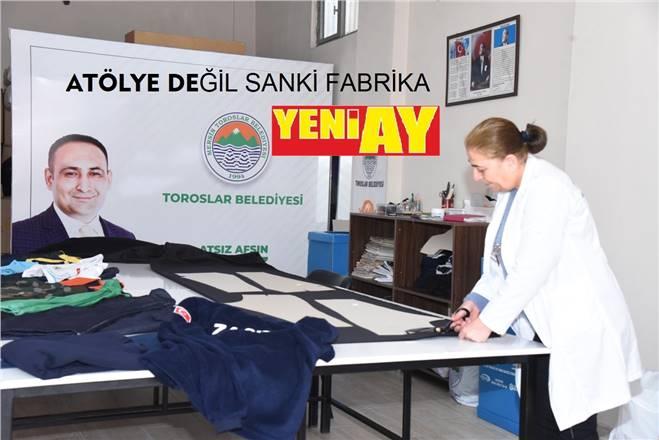 TOROSLAR BELEDİYESİ'NİN PERSONEL ÜNİFORMALARI DA